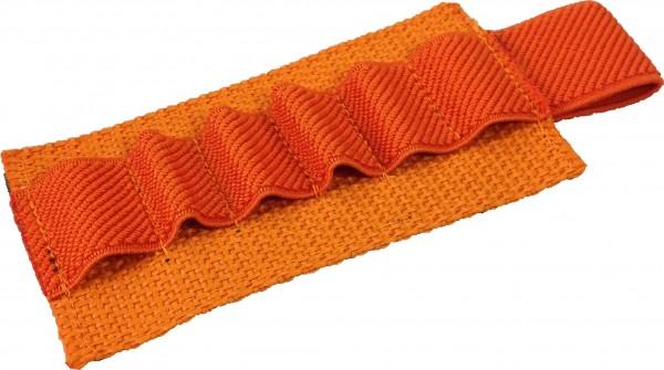 No Bäg Patch with 6 elastic loops Orange