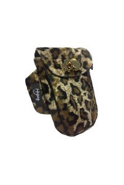 No Bäg Leopardenfell-Imitat Armtasche No Bag Oberarmtasche