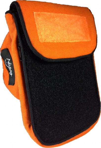 No Bäg Outdoor orange-schwarz Doppelpatch