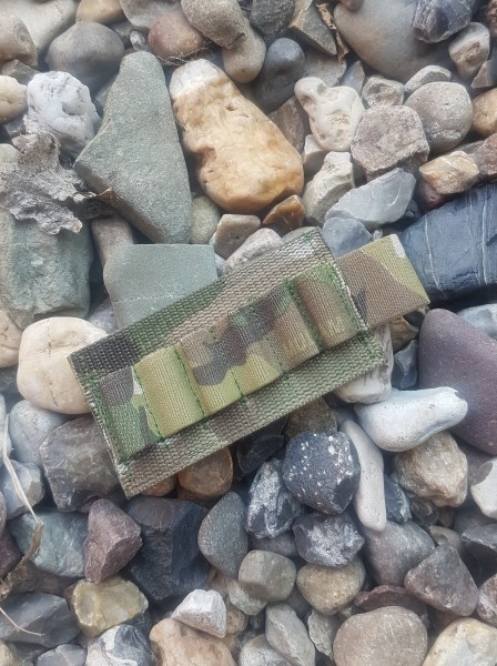 No Bäg Patch with 6 elastic loops Camouflage