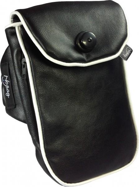 "No Bäg arm bag ""Black PU Artificial leather"""