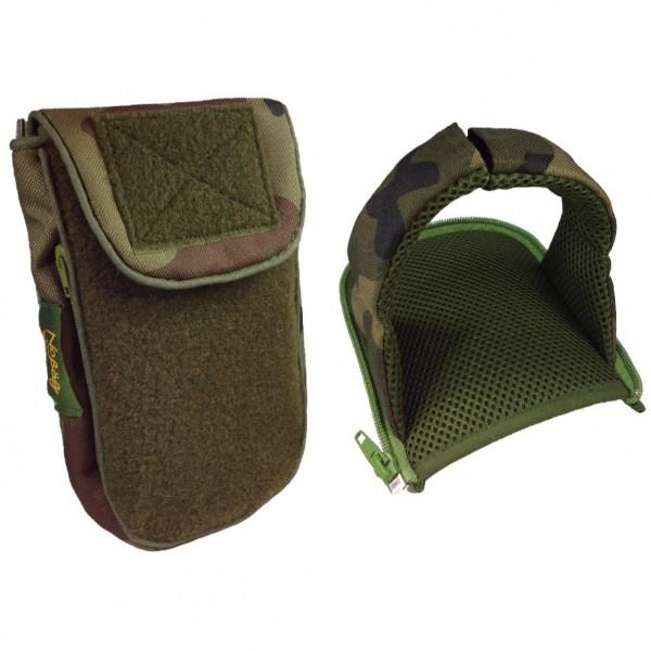 No Bäg Outdoor Revolution Camouflage double patch Set mit Zip-on arm loop