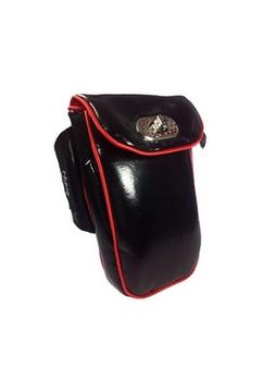 No Bäg Lack schwarz Armtasche No Bag Oberarmtasche