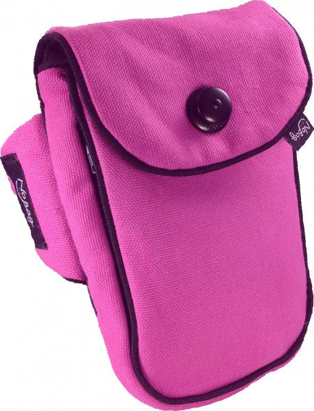 "No Bäg BEST DEAL arm bag ""Canvas Pink"""