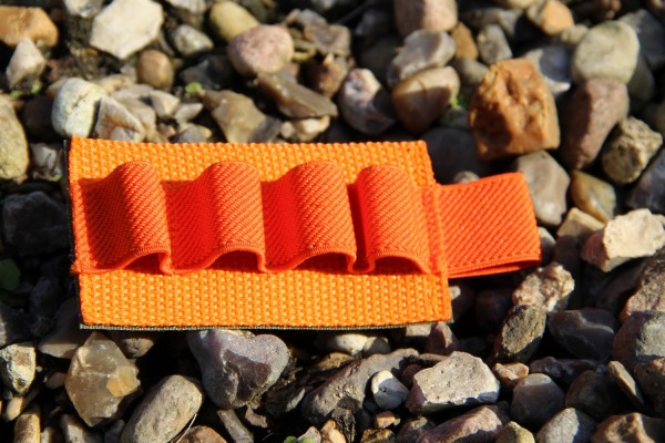 No Bäg Patch with 4 elastic loops Orange