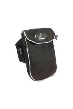 No Bäg Microfaser schwarz Armtasche No Bag Oberarmtasche