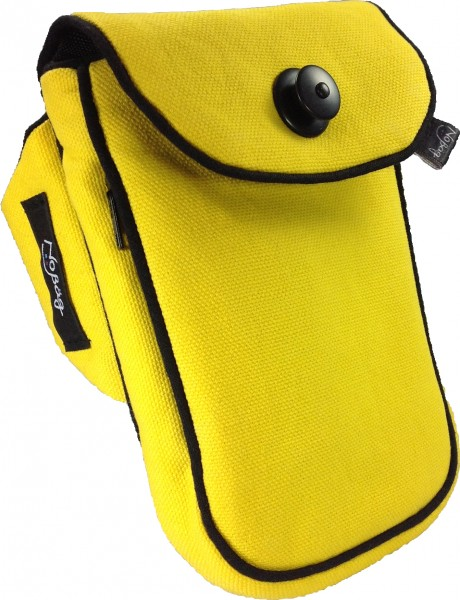 "No Bäg arm bag ""Canvas Yellow"""