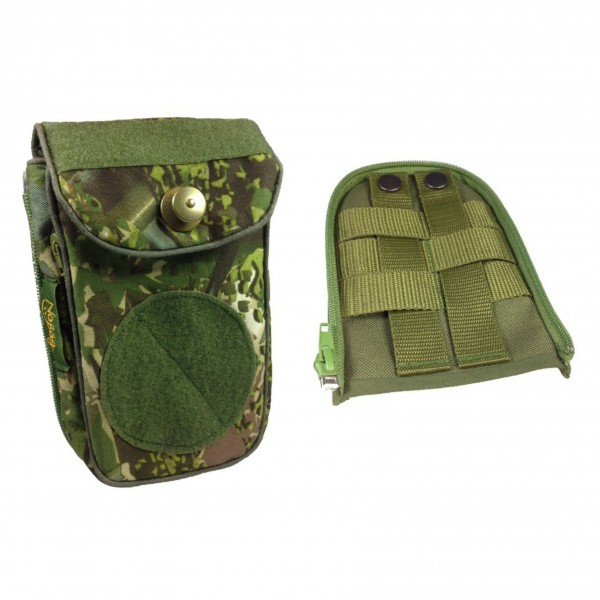 "No Bäg Revolution Concamo Green Set with Zip-on MOLLE/PALS ""Christophoutdoor Special"""