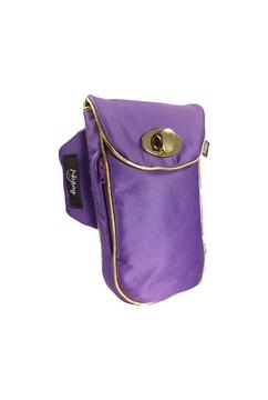 No Bäg Satin violett Armtasche No Bag Oberarmtasche