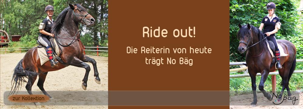 No Bäg beim Reiten Armtasche Pferd Reitzubehör