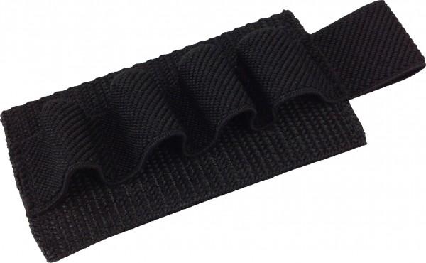 No Bäg Patch with 4 elastic loops Black