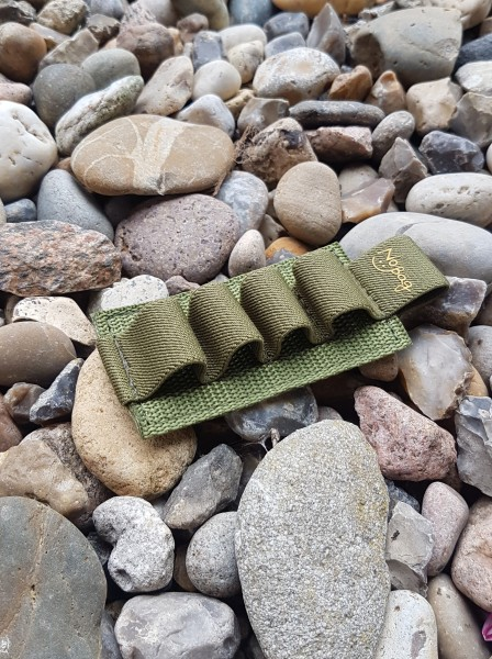 No Bäg Patch with 4 elastic loops Olivegreen with logo
