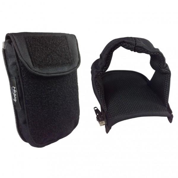 No Bäg Outdoor Revolution Black double patch Set mit Zip-on arm loop