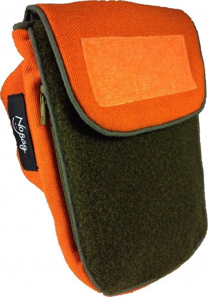 No Bäg Outdoor orange-khaki Doppelpatch