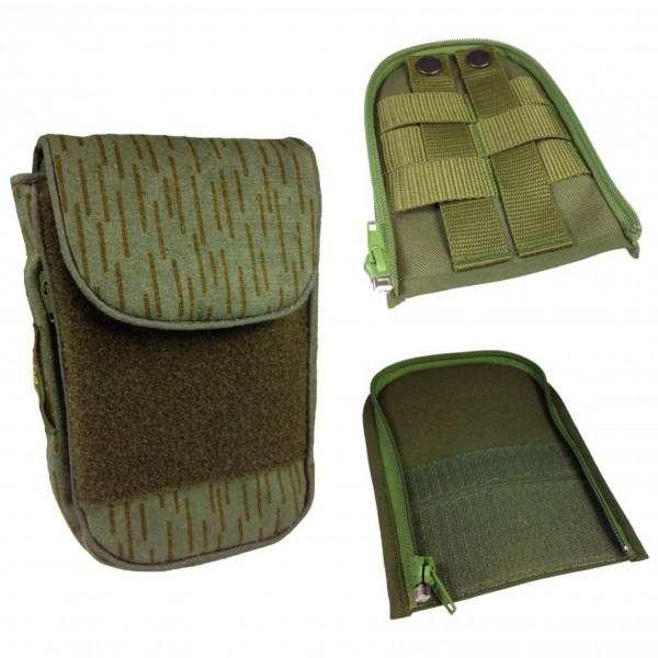 "No Bäg Outdoor Revolution Strichtarn Set with 2 Zip-on MOLLE/PALS + hook and loop ""tse.outdoor Special"""