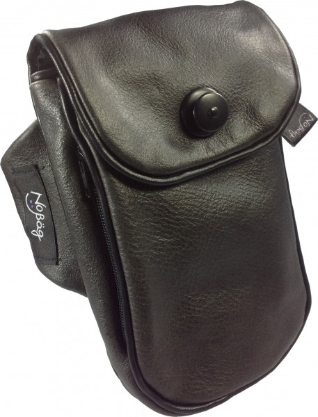 "No Bäg arm bag ""Leather black"""