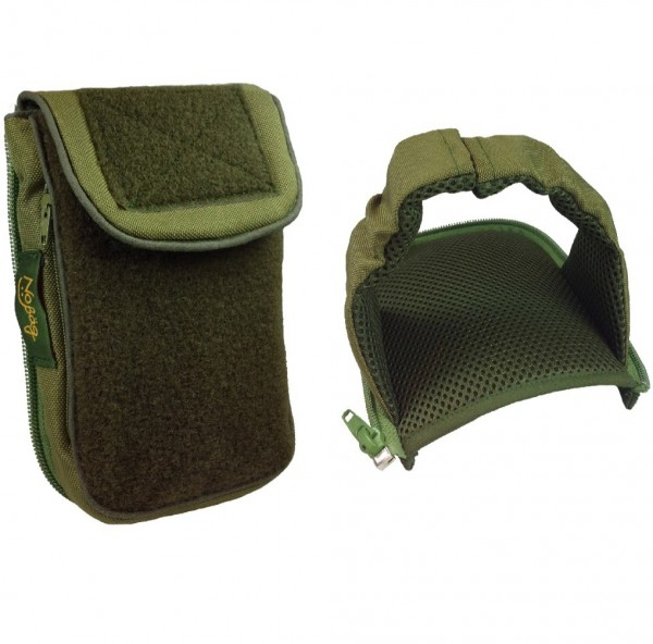 No Bäg Outdoor Revolution Olivegreen double patch Set mit Zip-on arm loop