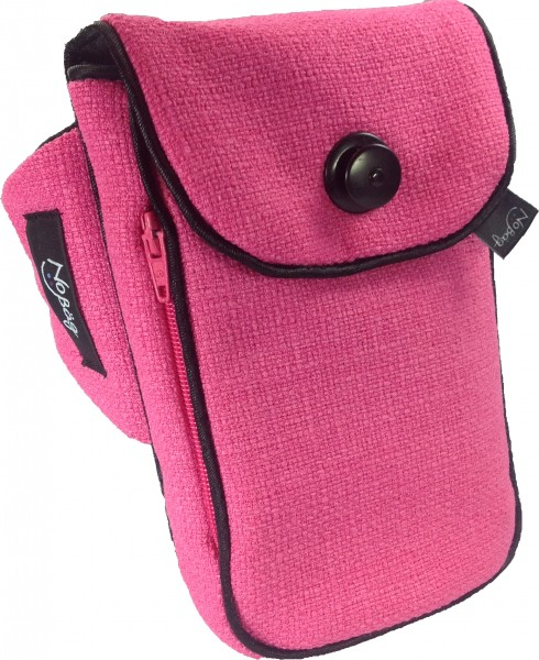 """No Bäg Armtasche """"Stoff pink"""""""