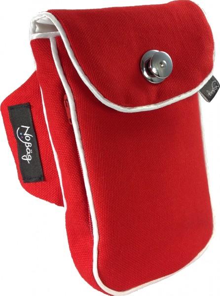 "No Bäg arm bag ""Canvas Red"""