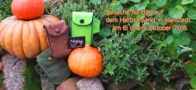 Besuche No Bäg auf dem Herbstmarkt in Hanstedt am 8. und 9. Oktober